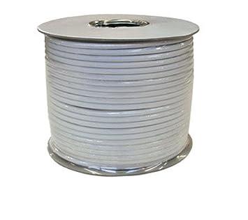 Philex RG6 - cable coaxial de 100 m para televisión Digital por satélite y Sky,
