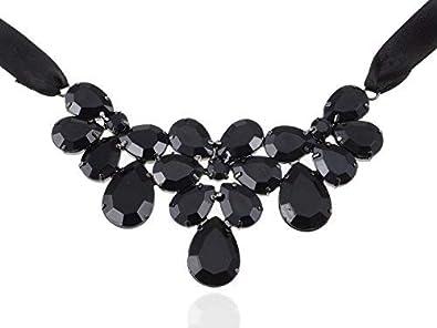 Alilang - Collar de corbata de varias capas, estilo gótico, estilo ...