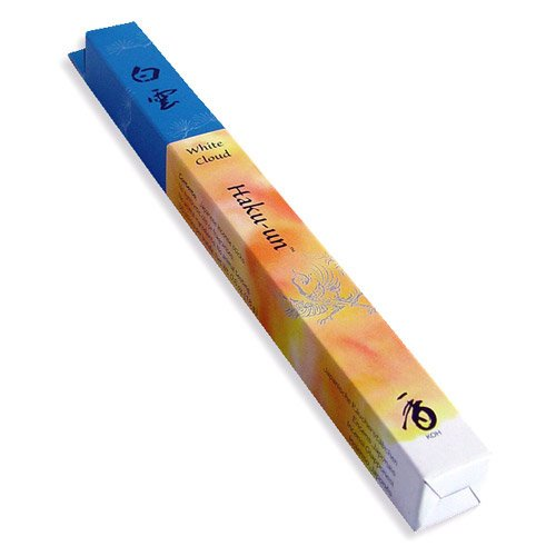 Shoyeido's White Cloud Incense, 35 sticks - Haku-un