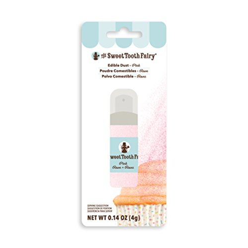(American Crafts 378906 Pink Dust Pumps Sweet Tooth Fairy Cake Decorating)