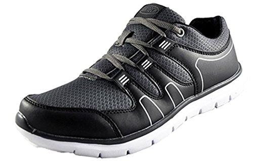 65aa89a34e9f1 para Hombre Air Tech Athletic Zapatillas de Running Gimnasio Ligero  Cordones Deportivas Zapatos Talla UK 7 - UK 11