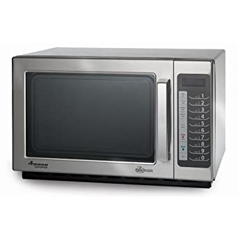 Amazon.com: Amana RCS10TS Medium-Duty Microwave Oven, 1000W ...