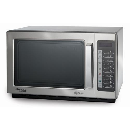 Amana RCS10TS Medium-Duty Microwave Oven, 1000W