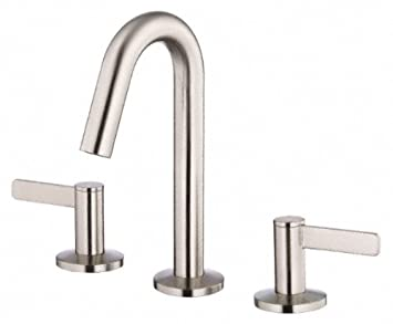 Danze D304030bn Amalfi Two Handle Widespread Lavatory Faucet