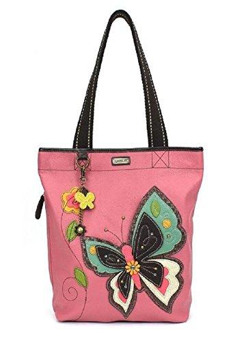 Chala Handbag Everyday Tote (Butterfly Pink)