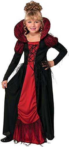 Vampiress Queen Costume for Kids -