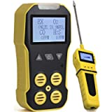 Basic MULTIGAS + Pump Analyzer, Detector, Meter by Forensics   O2, CO, H2S, LEL   USB Recharge   Sound, Light…