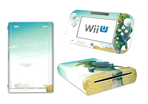EBTY-Dreams Inc. - Nintendo Wii U - Zelda Link Triforce Video Game Vinyl Skin Sticker Decal Protector