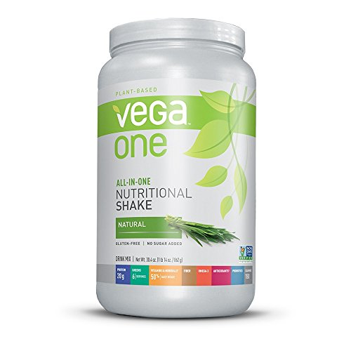 Vega One All-In-One Plant Based Protein Powder, Natural, 1.9 lb (22 Servings)