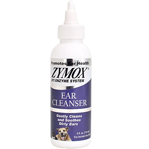 Zymox Ear Cleanser Refreshing & Non-Drying 4 fl. oz (2 pack)