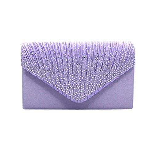 clair pour violet femme Saihui Pochette Px1CI