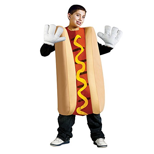 Cool Halloween Costumes For Dogs (Hot Dog Kids Costume)