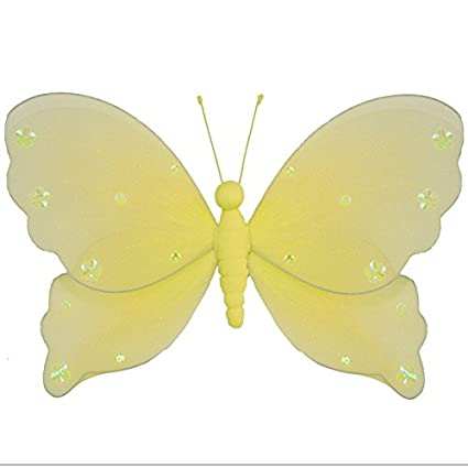 Amazon.com: Hanging Butterfly Large 13\