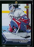 2005 06 Upper Deck Henrik Lundqvist Rookie Card #3 - New York Rangers - Shipped In Protective Display Case!