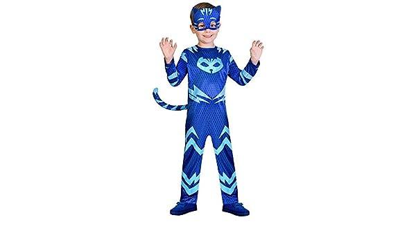 DISBACANAL Disfraz Gatuno PJ Masks para niño - Único, 5-6 años: Amazon.es: Juguetes y juegos