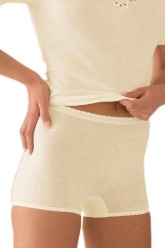 Sangora Women's Thermal Short Bottom 7960751 Natural White XXL