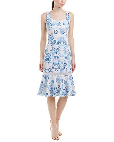 Donna Morgan Des Femmes De Robe Fourreau, 8, Bleu
