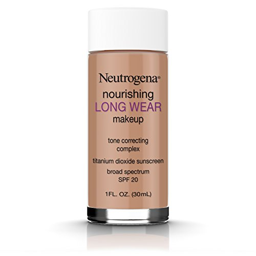 Neutrogena Nourishing Long Wear Liquid Makeup Foundation With Sunscreen, 135 Chestnut, 1 Fl. Oz.