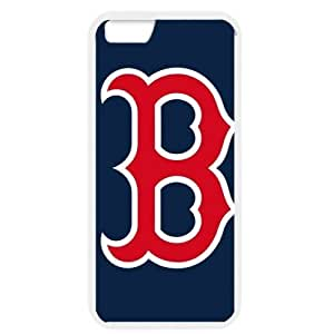 MLB iPhone 6 White Boston Red Sox cell phone cases&Gift Holiday&Christmas Gifts NBGH6C9125259