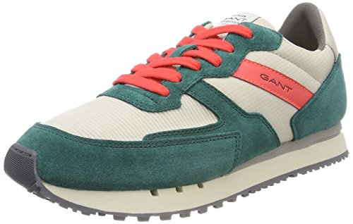 Gant Green Beige Mehrfarbig Duke Uomo Gant Uomo Mehrfarbig Sneaker Sneaker Duke Pumice gqnxTSwT