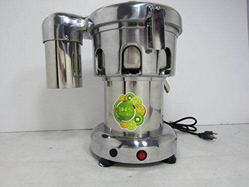 Find Cheap 370W Professional Stainless Steel Commercial Juice Extractor Vegetable Juicer 80-100kg/Hr...