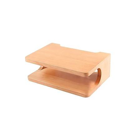 PPOSH Flotante gabinete de la TV, madera enrutador caja de ...
