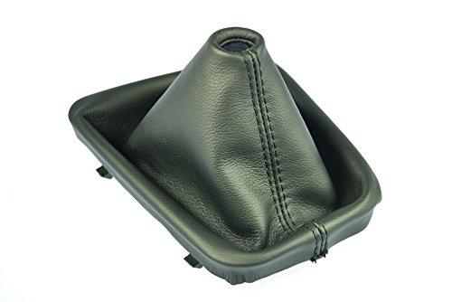 Schaltsack Schaltmanschette Echt Leder schwarz N331