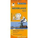 Michelin Niederlande Nord: Straßen- und Tourismuskarte 1:200.000 (MICHELIN Regionalkarten)
