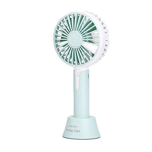 USB personal Desk fan Small Office Desk Fan Mini Portable USB Personal Fan With Aroma Diffuser Function And Adjustable 3 Speeds For Office Home Household Outdoors Travel Picnic Green for home office t