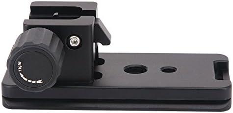 Dual Optional Head for Sony SAL-2470Z 24-70mm f//2.8 Carl Zeiss Vario-Sonnar T Professional Heavy Duty 72 Monopod//Unipod