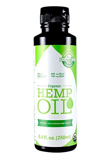 Manitoba Harvest Hemp - Manitoba Harvest Organic Hemp Oil, 8 Fluid Ounce