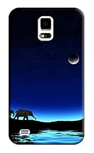 Affica Night Hard Back Shell Case / Cover for Samsung Galaxy S5