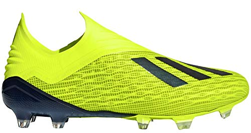 adidas X 18+ FG Cleat - Men's Soccer 9 Solar Yellow/Black/White