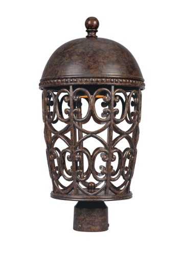 Cheap Designers Fountain 97596-BU Amherst-DS Post Lanterns, Burnt Umber