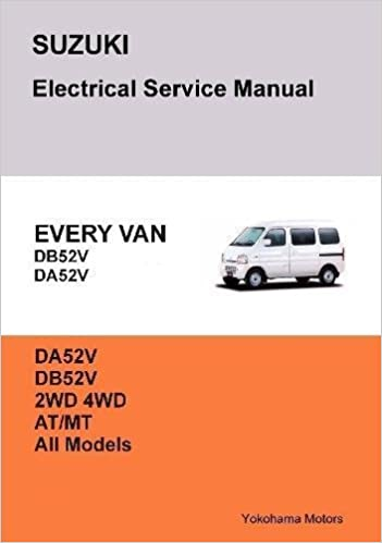 Suzuki every van electrical service manual db52v da52v james danko suzuki every van electrical service manual db52v da52v james danko 9781365885310 amazon books fandeluxe Choice Image
