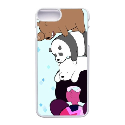 Coque,Apple Coque iphone 7 Plus (5.5 pouce) Case Coque, Generic We Bare Bears Chloe Cover Case Cover for Coque iphone 7 Plus (5.5 pouce) blanc Hard Plastic Phone Case Cover