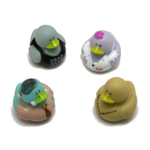 12 pc Vinyl Zombie Rubber Duckies