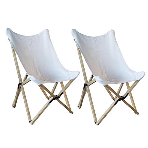 - Canvas Cover Butterfly Chair