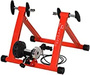 Soozier Magnetic Bike Trainer Indoor Exercise Bicycle Stand w/5 Levels of Resistance