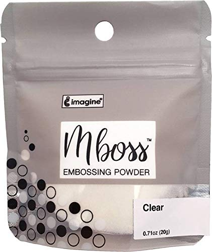 Imagine Mboss Embossing Powder-Clear