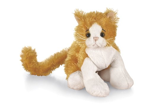 Amazon Com Ganz Lil Kinz Cat 6 5 Plush Orange Toys Games