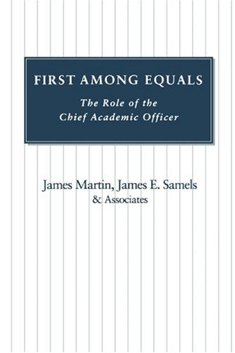 First Among Equals: The Role of the Chief Academic Officer