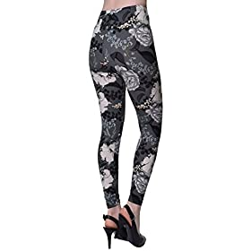 - 41AVfo6UzRL - VIV Collection Printed Brushed Leggings Regular and Plus