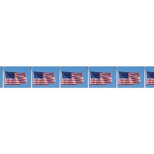 amscan Waving Flags Border Roll