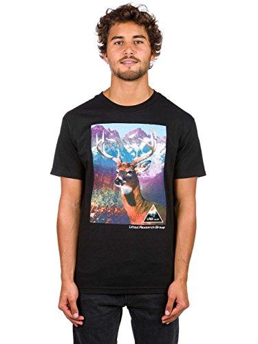 LRG Mens Young Buck Short-Sleeve Shirts X-Large Black c54dd14466910
