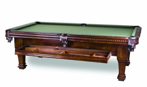 Pool Table 8ft. Antique Walnut Ramsey Brand New- Taupe Color Felt