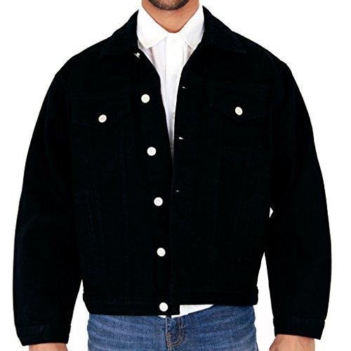 vaquera Stonewash L chaqueta S Lightwash nbsp;X L XL 3 nbsp;X Negro L 2 negro nbsp;X 6 L 4 L nbsp;X Para Aztec M Casual hombre 5 nbsp;X L TwCxt4qIX