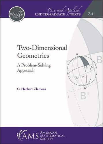 Two-dimensional Geometries: A Problem-solving Approach (Pure and Applied Undergraduate ()