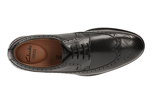 Scarpe Black Coling Limit Uomo Leather Stringate Clarks Derby wpZfCTqTP