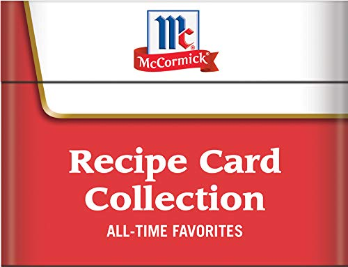 McCormick All-Time Favorites - Recipe Card Collection Tin